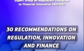 Fintech: pubblicate le 30 raccomandazioni del gruppo Rofieg