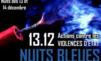 Francia: Nuits bleues il 13 dicembre per colpire forze dell'ordine