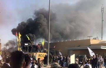 Iraq: assalto all'ambasciata americana a Baghdad