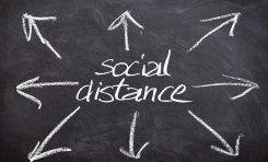 Coronavirus: i rischi della distanza sociale