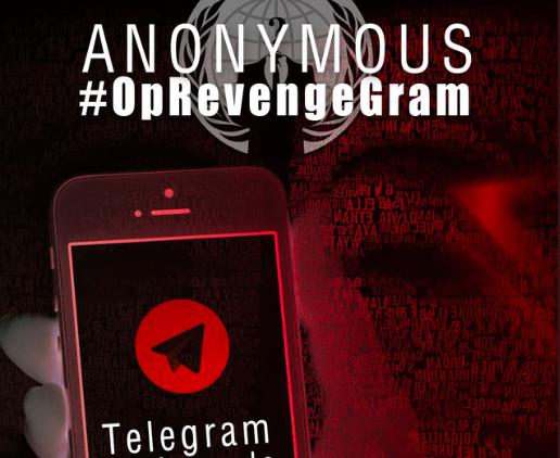 Pedopornografia e Revenge Porn: Anonymous contro chat Telegram
