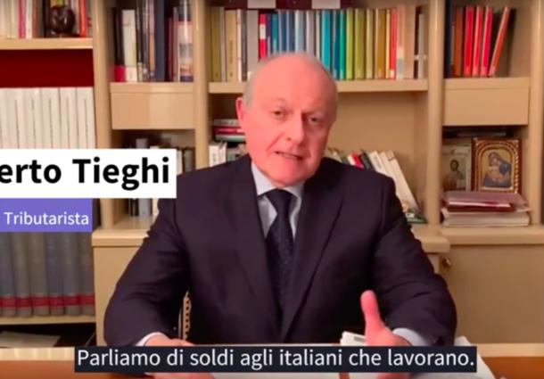 Soldi agli italiani che lavorano