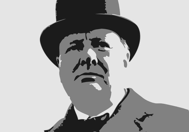 Ecco perché se danneggi una statua di Churchill puoi sperare in una ammenda