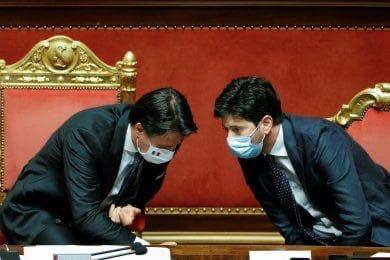 Totò (Conte), Peppino (Speranza)…e la malafemmina (l'Italia)