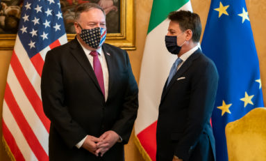 Usa vs Cina: la guerra fredda si combatte in Italia