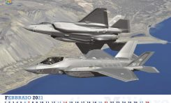 Dall'Iraq alla Cina: l'Aeronautica presenta il calendario 2021