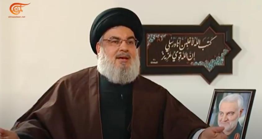 Hezbollah, Hassan Nasrallah torna a minacciare Israele e Usa