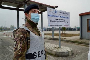 Covid, Esercito in prima linea: effettuati 1 milione di tamponi