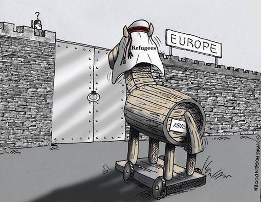 El caballo de Troya del ISIS en Europa