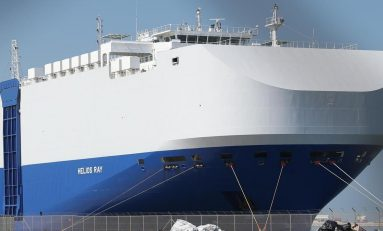 Golfo Persico: la nave israeliana è stata colpita da mine