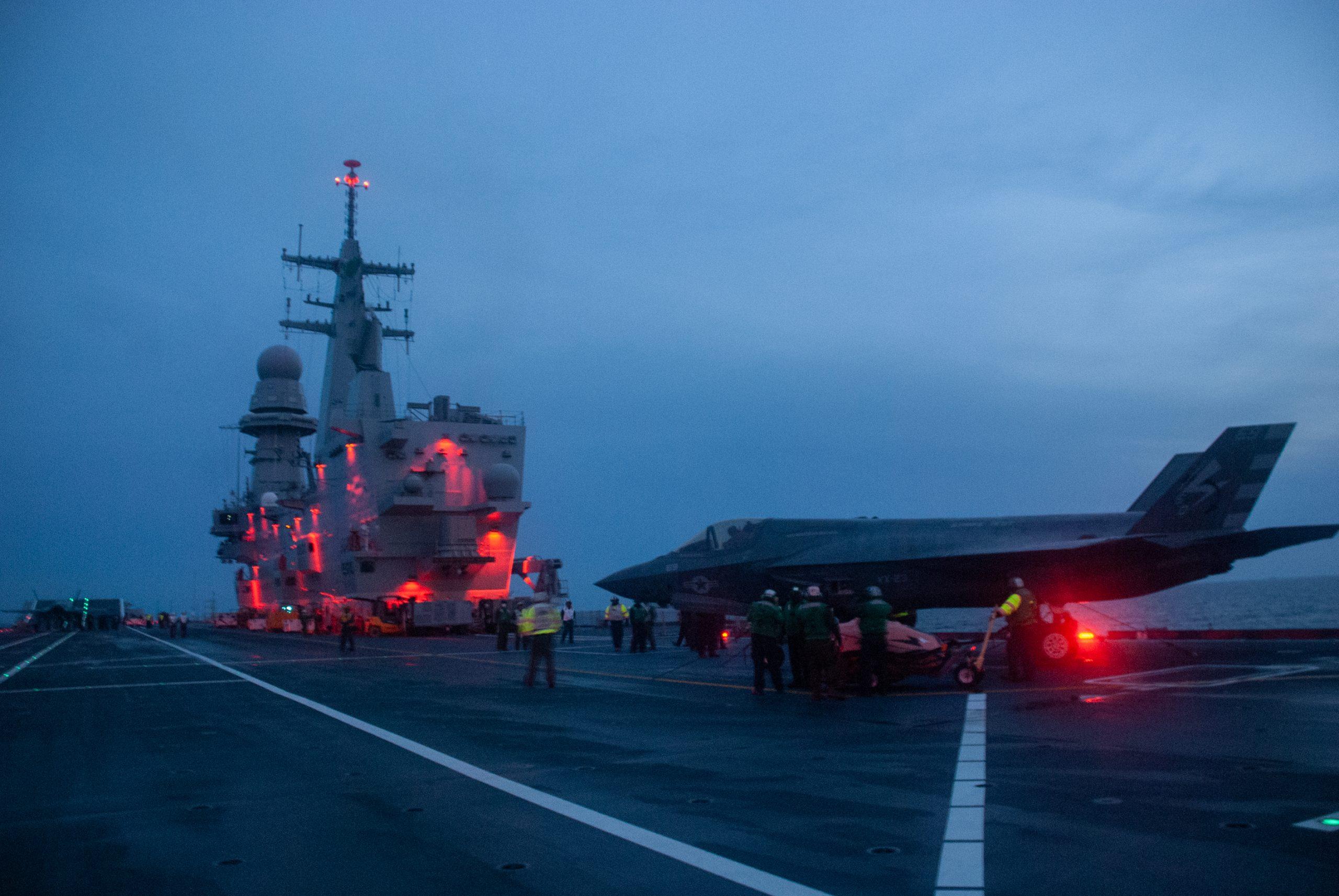 Marina Militare: al via le prove per uso F-35B sulla Cavour