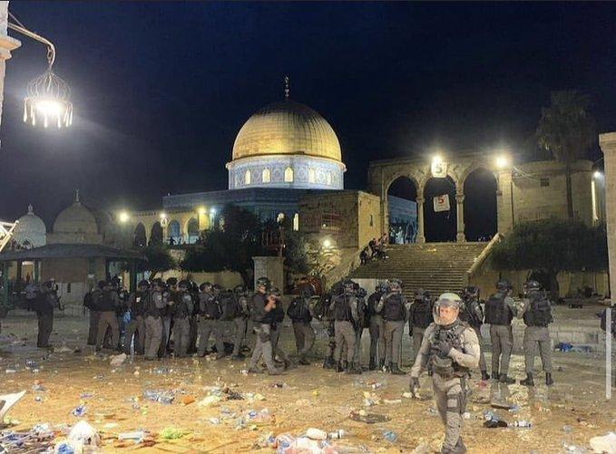 Israele: a Gerusalemme scontri e rivolta guidati da Hamas