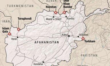 Afghanistan: la frontiera con l'Iran è in mano ai Talebani